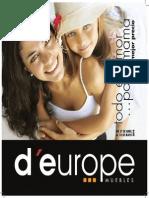 Catálogo d'europe muebles - Mamás