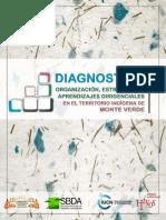 Diagnóstico Organización, Estructura y Aprendizajes en el Territorio Indígena de Monte Verde