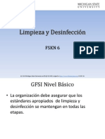 FSKN 06 Cleaning and Disinfection Traducción