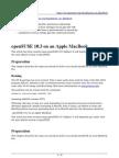 openSUSE installation on Apple MacBook