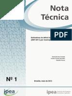 Nota Tecnicadirur01 Deficit Habitacional