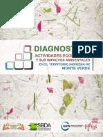 Diagnóstico sobre las principales actividades económicas en el Territorio Indígena de Monte Verde
