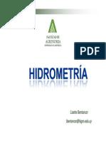 Hidrometria 2013