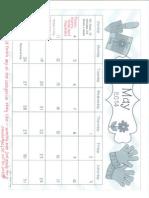 May Ixl Calendar