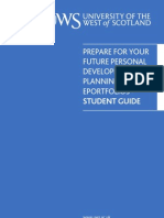 New Student PDP Guide