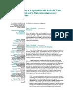 Acuerdo Relativo a La Aplicación Del Artículo Mexico