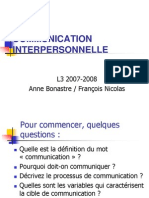 Cours Communication
