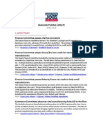 Manufacturing Jobs for America Update - April 2014