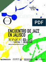 Anuncia Fundación Tónica el Festival de Jazz en Jalisco