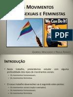 Movimentos Homossexuais e Feministas
