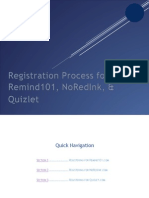 printable website registrations
