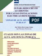 07. Zonas de Alta Afluencia Al Publico - Ing. Edwin Rene Arapa Cutipa