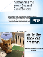 marty the book cat presents