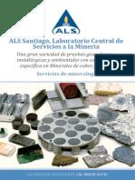 ALS Santiago Laboratorio Central de Servicios a La Minera Servicios de Mineraloga