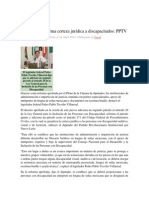 24-04-2014 Regio.com - Garantizará reforma certeza jurídica a discapacitados, PPTV.