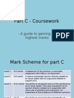 Part C - Course Work