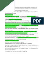 How to Write Manuscript