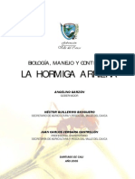Biologia, Manejo y Control de La Hormiga Arriera