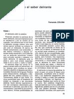 Fernando Colina - Diez Tesis Sobre El Saber Delirante (Revista de la Asociacion Española de Neuropsiquiatria, Vol 4, No 9, 1984).pdf