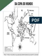 Mapa Mundi Copa