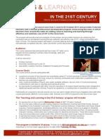 DEECD Digital Learning Branch PD flyer Tl21c