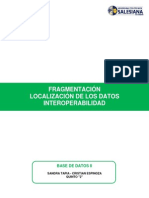 Fragmentacion - Informe Final