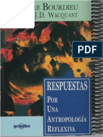 151992202 Respuestas Por Una Antropologia Reflexiva Pierre Bourdieu