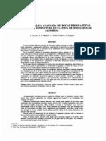 Alteracion Argilica Avanzada de Rocas Piroclasticas en Funcion de Su Estructura en La Zona de Rodalquilar - Almeria