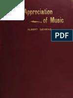 The Appreciation of Music (1913)