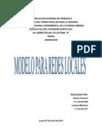 Modelo Para Redes Locales
