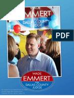 Wade Emmert - brochure