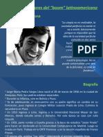 Principales autores del boom latinoamericano