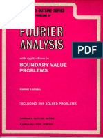 Schaum - Fourier Analysis