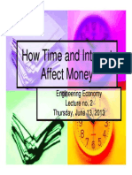 Lecture 2 - How Time and Interest Affect Money