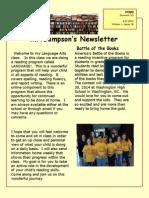 mr  sampsons newsletter