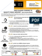 Mill Hill Focus Leaflet May 2014