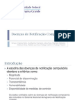 Doenças de Notificação Compulsória (Correto)