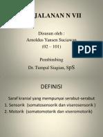 Anatomi Perjalanan n Vii- Dr. Tumpal, Sps