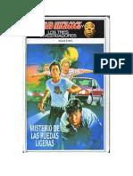 44. Hitchcock Alfred - Los Tres Investigadores (3ra Etapa), El Misterio de Las Ruedas Ligeras.