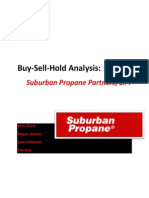 suburban propane partners l p