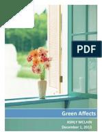 green affects