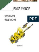 Operacion Mantenimiento Perforadora Jumbo Avance