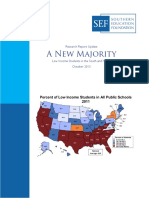 Low Income Students in the South and Nation New Diverse Majority Update