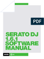 Serato DJ 1.6.1 Software Manual - English
