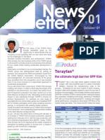 Toray Newsletter 1 - Eng