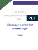 Cálculo de Curto Circuito Trifásico