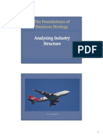 Analyzing Industry Structure