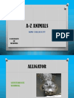 a-z animals powerpoint