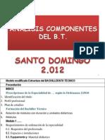 1 Análisis Componentes Del b.t 2 2012
