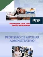 Resumo Geral Auxiliar Administrativo - Senac